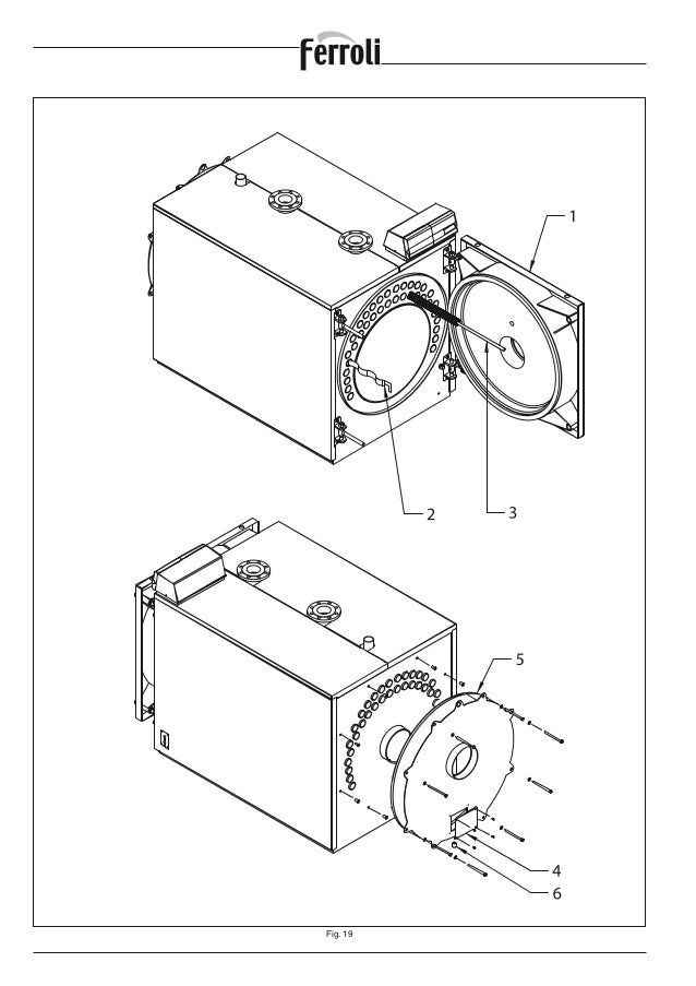 Manual instrucciones Ferroli PREXTHERM rsw-1250-3600