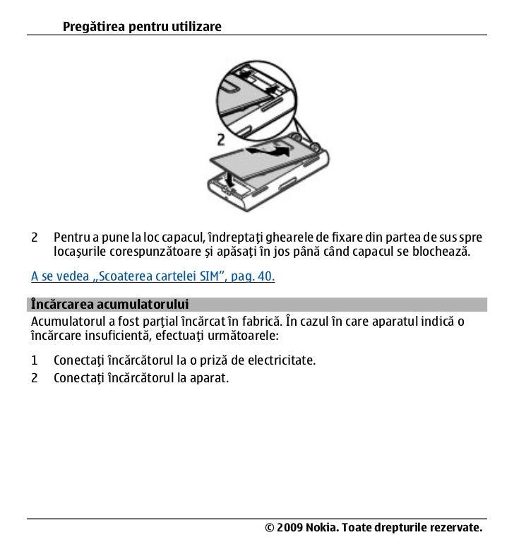 nokia x6 manual de utilizare