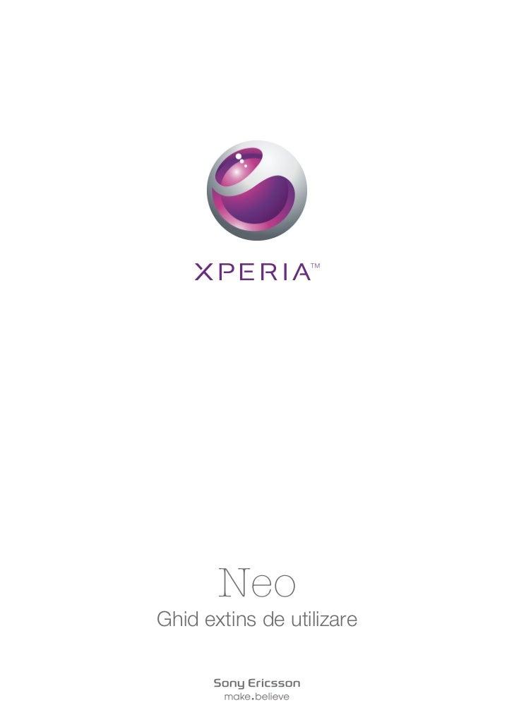 NeoGhid extins de utilizare