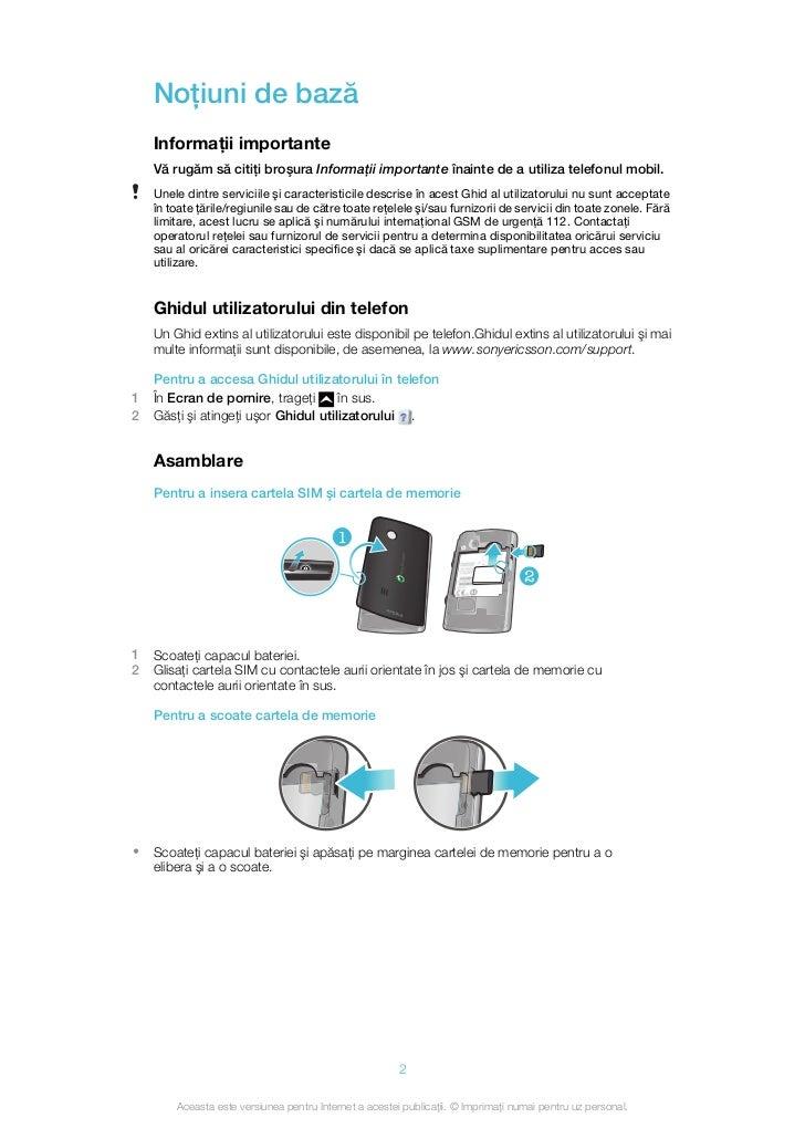Manual Instructiuni Sony Ericsson X10 Mini Pro Red U20i border=