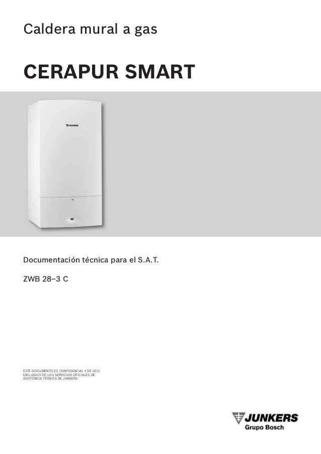 Manual caldera junkers cerapur smart zwb 28 for Caldera mural a gas