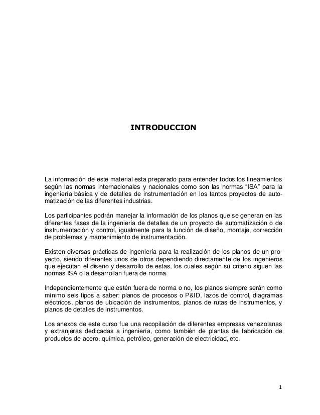INTRODUCCION  La información de este material esta preparado para entender todos los lineamientos según las normas interna...