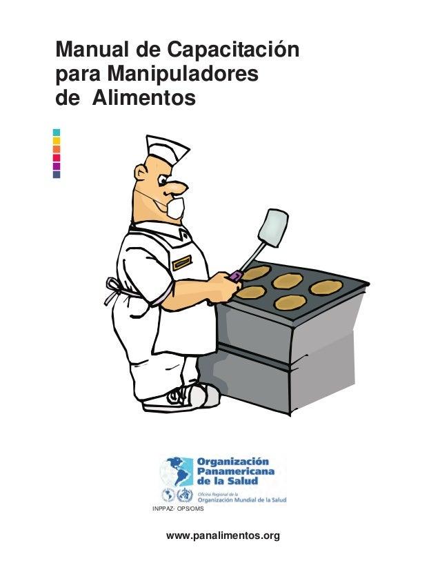 Manual manipuladores alimentos for Manual de buenas practicas de higiene y manipulacion de alimentos