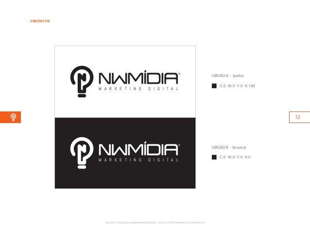 Manual da nova marca NWMídia Consultoria em Marketing Digital
