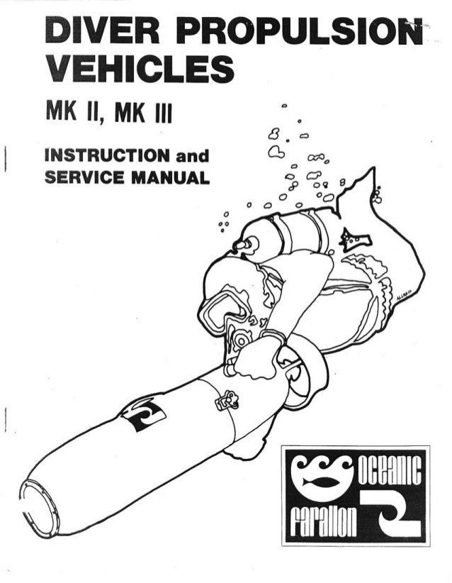 Farallon Scooter DPV Manual mk2-mk3