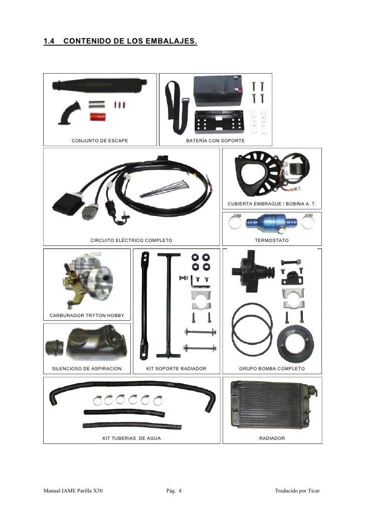 Manual motor-x30