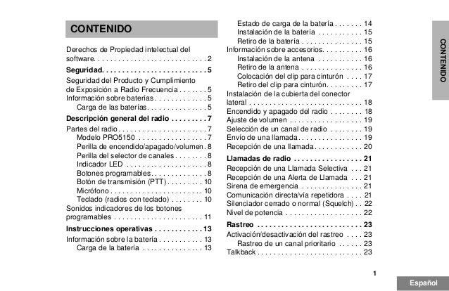 manual motorola pro 5150 esp rh slideshare net manual de radio motorola pro5150 User Manual