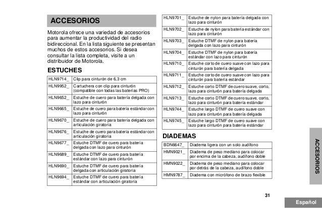 Manual motorola-pro-5150-esp.