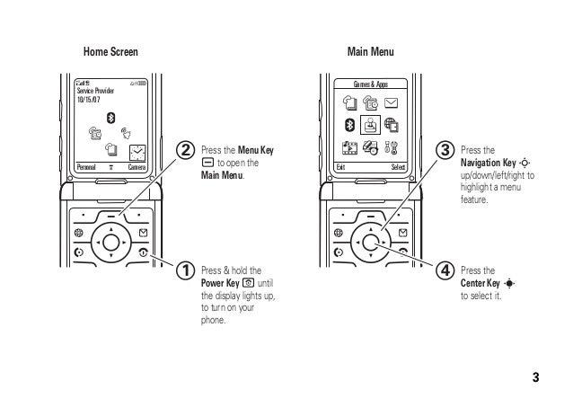 manual motorola razr v3i gsm rh slideshare net RAZR V3i Phones Motorola V3i
