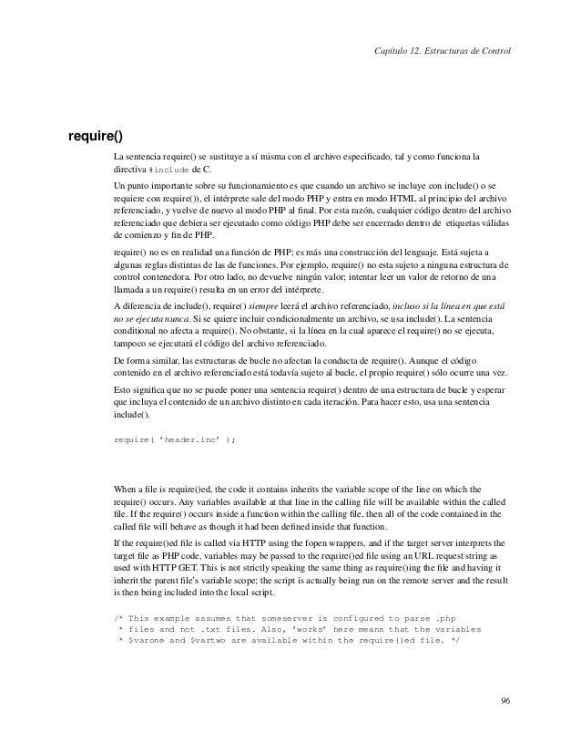 Manual php