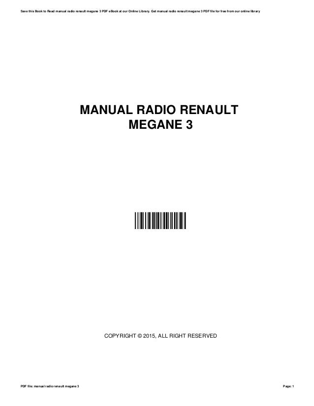 Manual megane 1 ebook renault megane scenic parts manual pdf 317 81 kb 24 mar array manual radio renault megane 3 rh slideshare net fandeluxe Image collections
