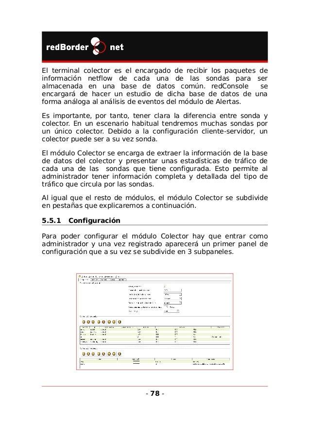 5.5.1.1 Parámetros de configuración Aquí se configuran los parámetros más generales del módulo Colector: • Activar/Desacti...