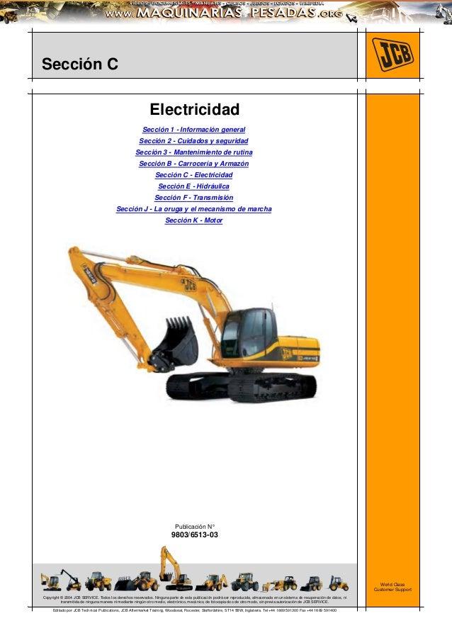 manual sistema electrico excavadora js200 260 jcb rh es slideshare net
