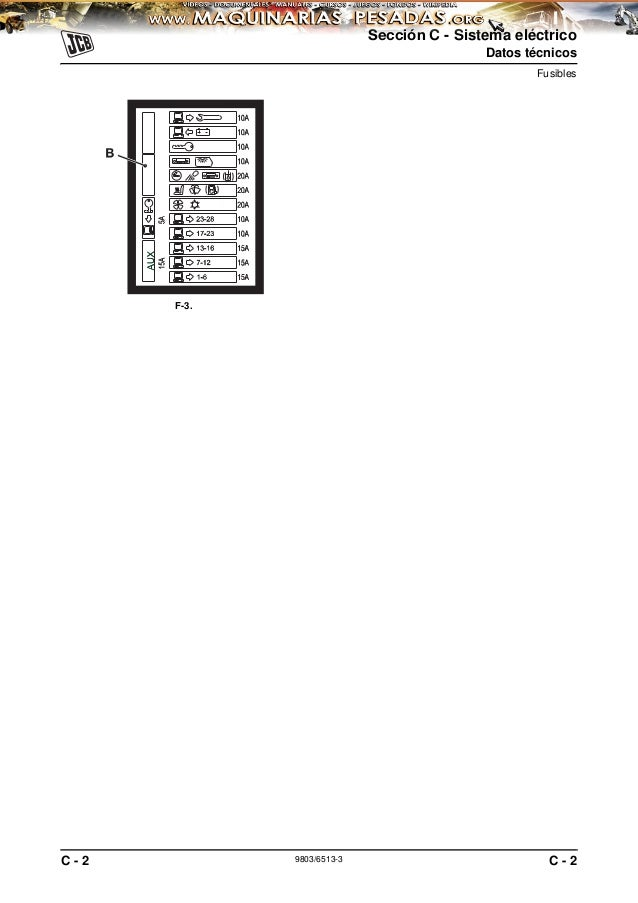 Manual sistema-electrico-excavadora-js200-260-jcb