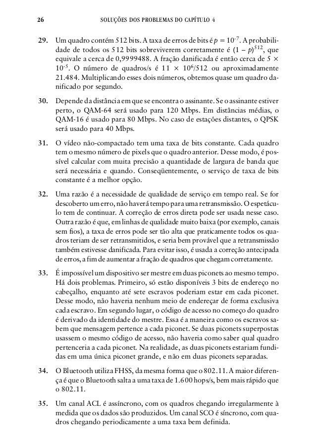 Manual solucoes redes tanenbaum 26 fandeluxe Gallery