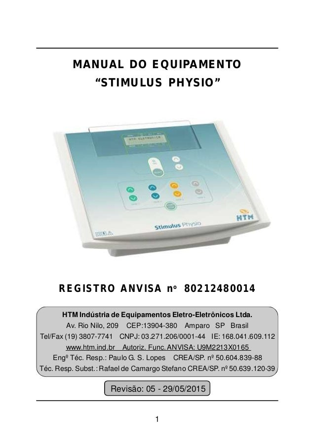 Manual Stimulus Physio HTM