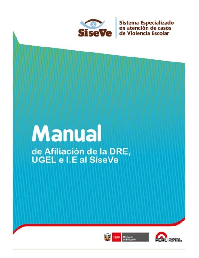 SíseVe Manual de Usuario Página No 2/37 Índice I. Introducción...............................................................
