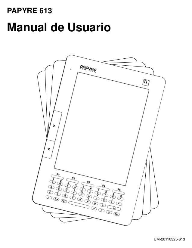 Manual usuario-papyre613 jm