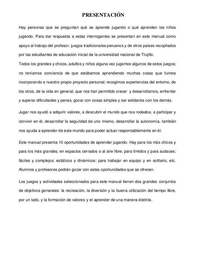 Manual Virtual De Juegos Para I Ciclo Y Ii Ciclo