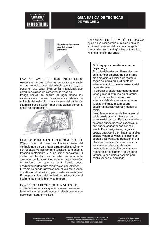 Manual de Instalacion de winche
