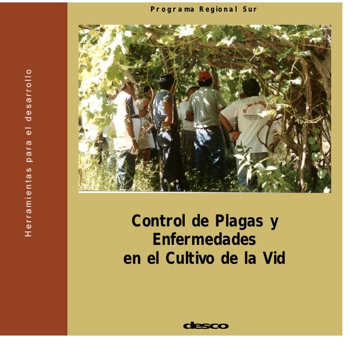 Programa Regional Sur      Control de Plagas y     Enfermedades en el Cultivo de la Vid            desco