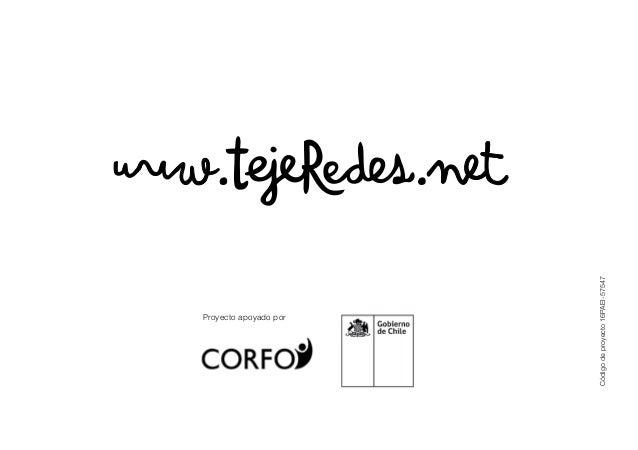 Manual tejeRedes de conceptos, metodología y prácticas