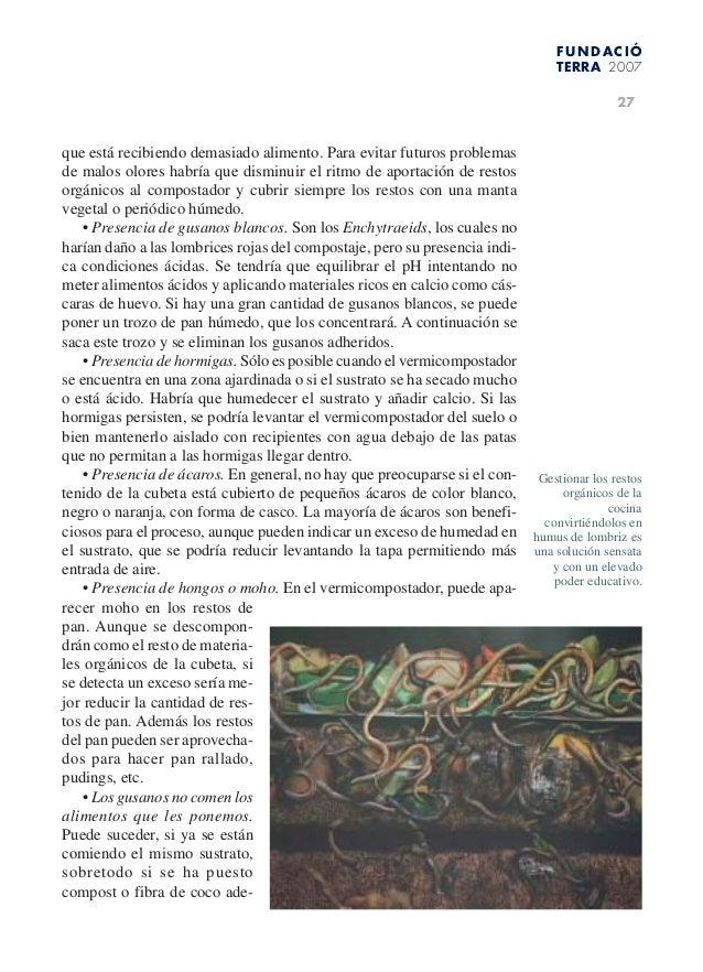Lombrices Californianas Venezuela,Manual 1 .... LOMBRICULTURA BARQUIS…
