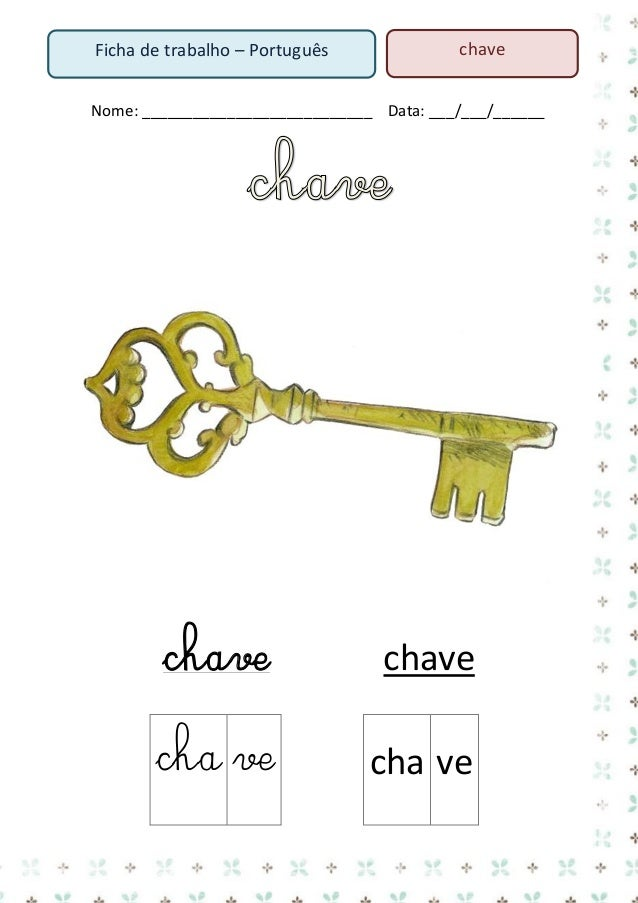 2. Lê o texto  A Mónica e a chave  A Mónica vê a chave na mesa da sala. A chave é leve e nova. É a chave da casa dela. A M...