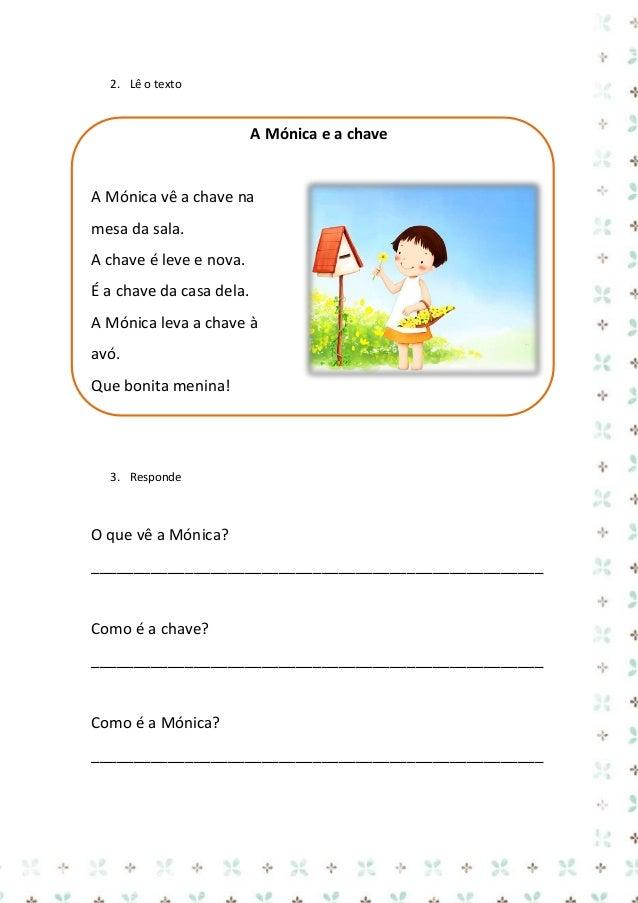 Ficha de trabalho – Português  galinha  Nome: ___________________________ Data: ___/___/______  galinha  galinha  ga li nh...