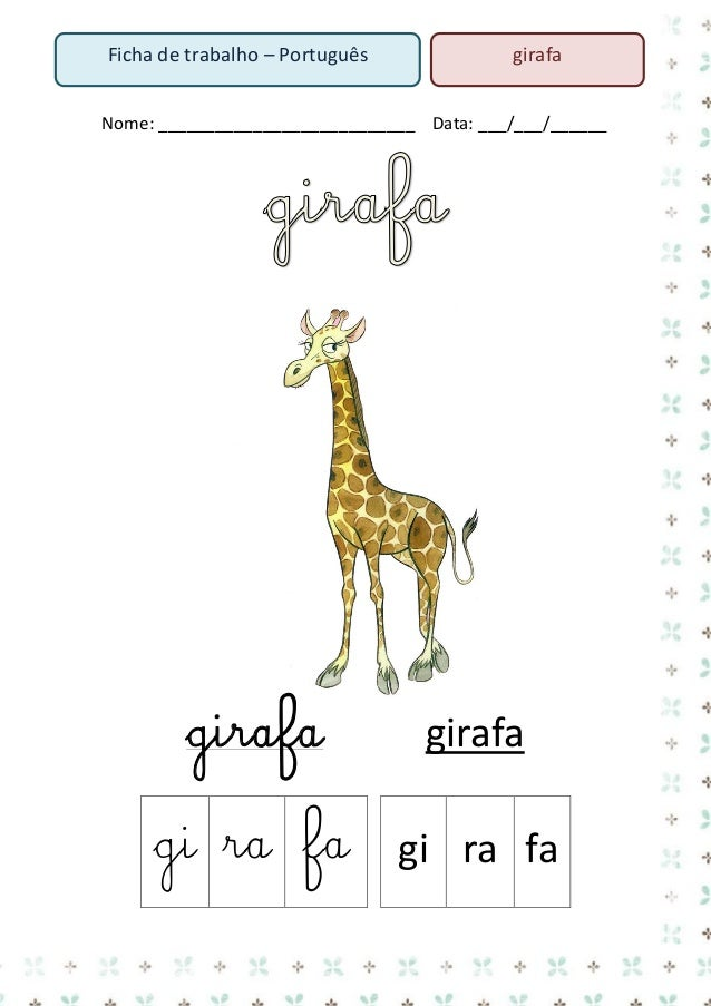 3. Escreve os nomes de todos os animais