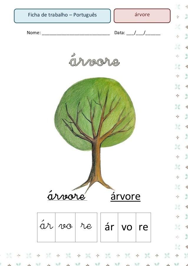 3. Lê o texto  A árvore da montanha Era uma vez uma árvore que vivia na montanha. Ela era bonita! Certo dia, um lenhador r...