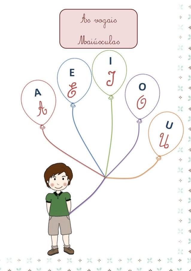 Ficha de trabalho - Português  Vogais  Nome: ___________________________ Data: ___/___/______  aeiou  a e i o u  1. Faz a ...
