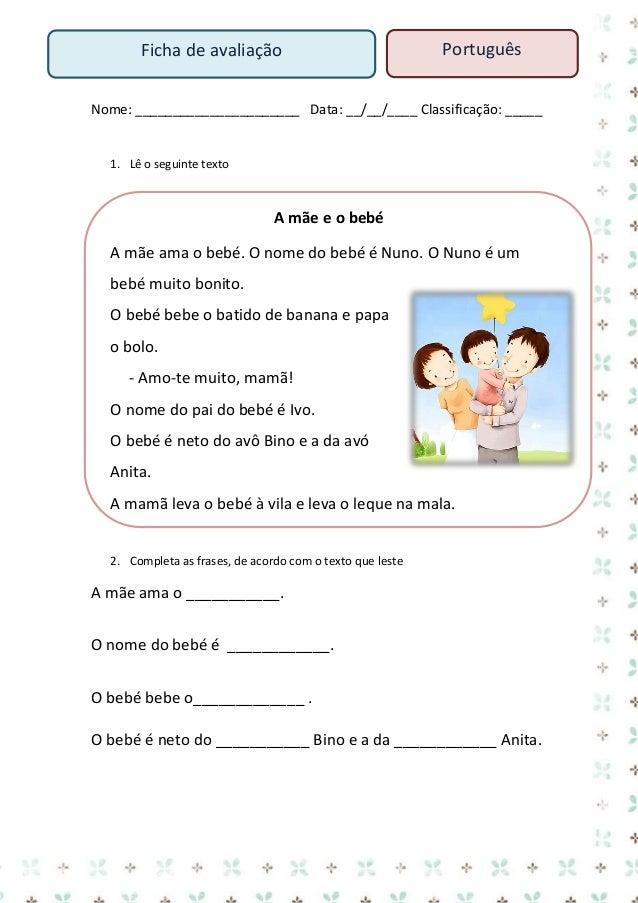 casa  Ficha de trabalho – Português  Nome: ___________________________ Data: ___/___/______  casa ca sa  casa ca  sa