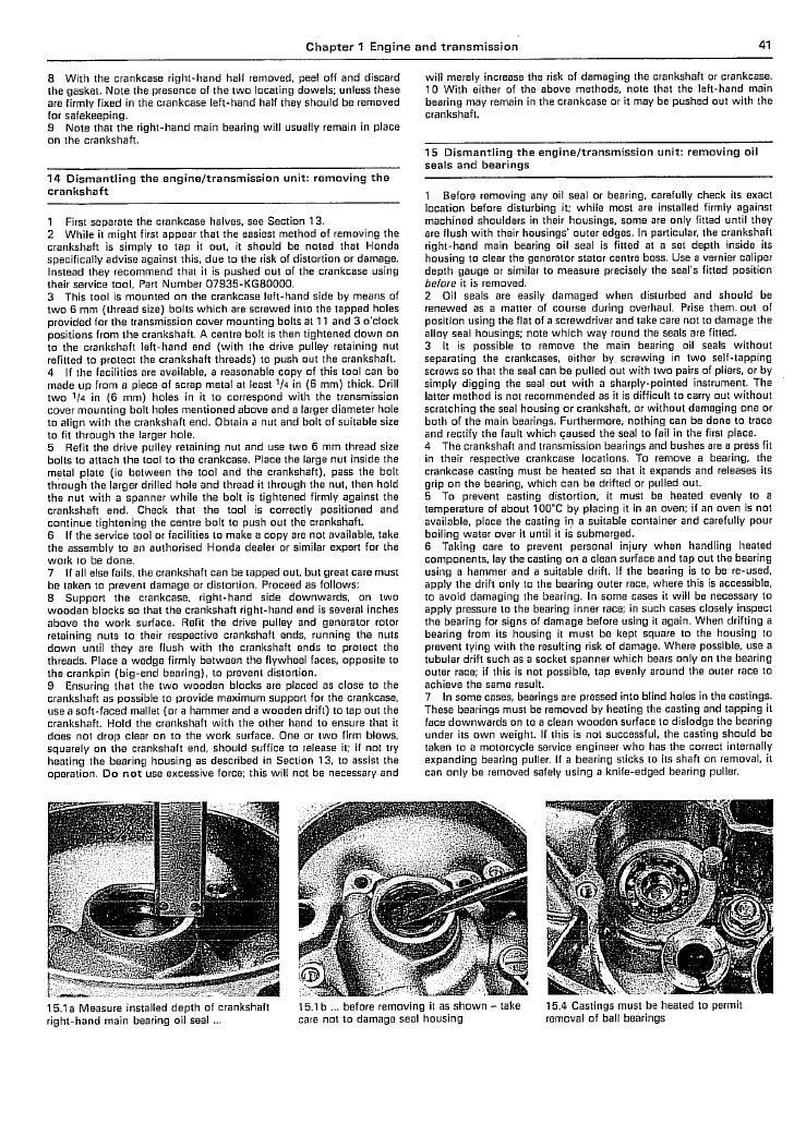 Service manual Honda scoopy