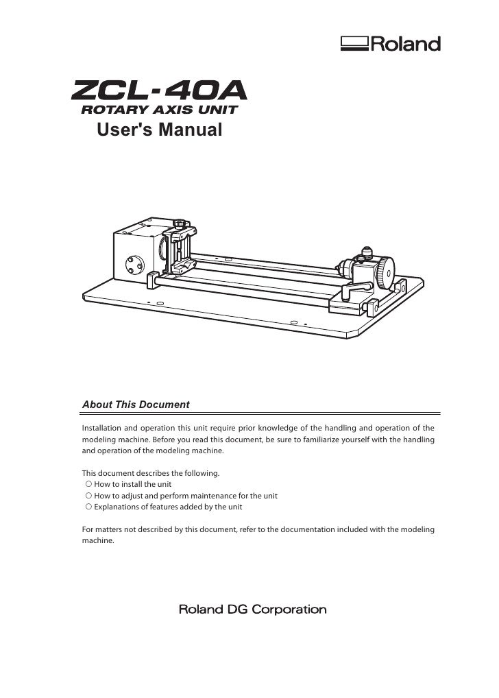 User's Manual     About This Document  Installation and operation this unit require prior knowledge of the handling and op...