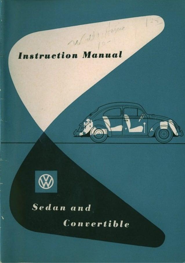 Manual Fusca 1954