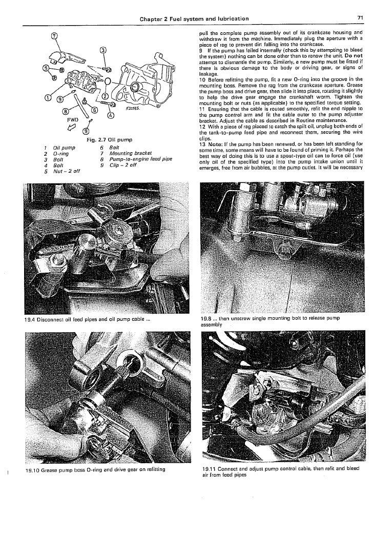 Honda Scoopy SH50 manual 5 of 6 - PDF
