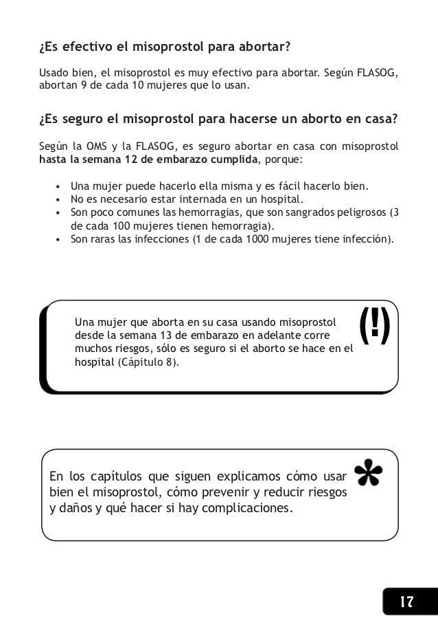 Manual aborto con pastillas argentina - Como se puede abortar en casa ...
