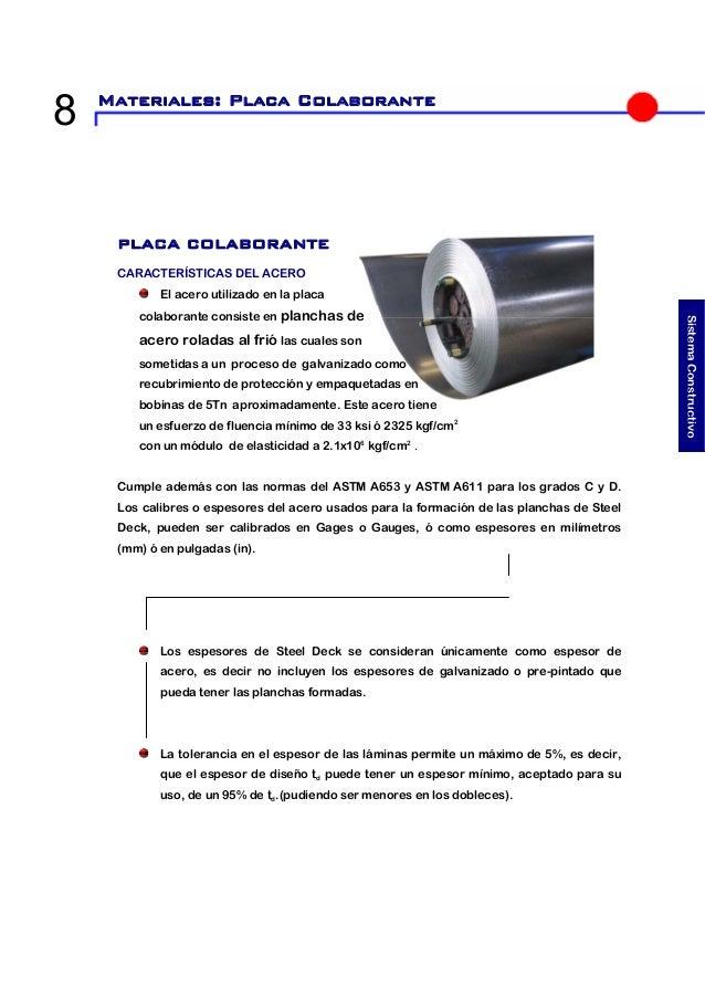 95817326700 PLACA COLABORANTE - LOSA DE ENTREPISO