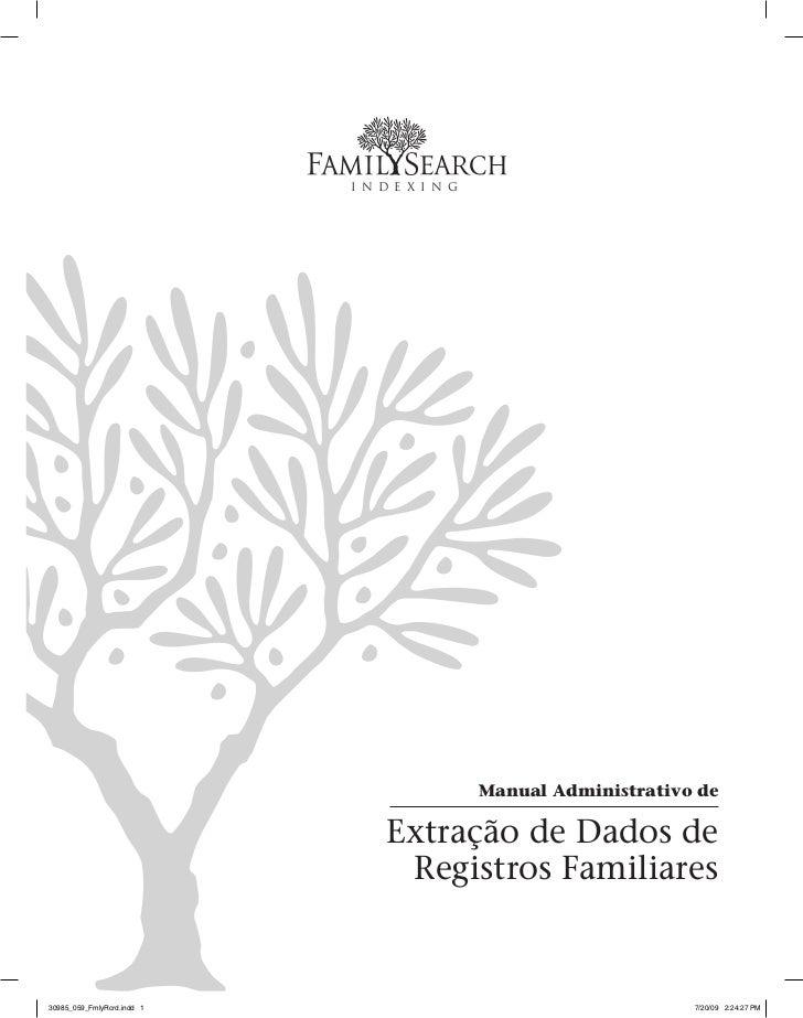 I n d e x i n g                                              Manual Administrativo de                                Extra...