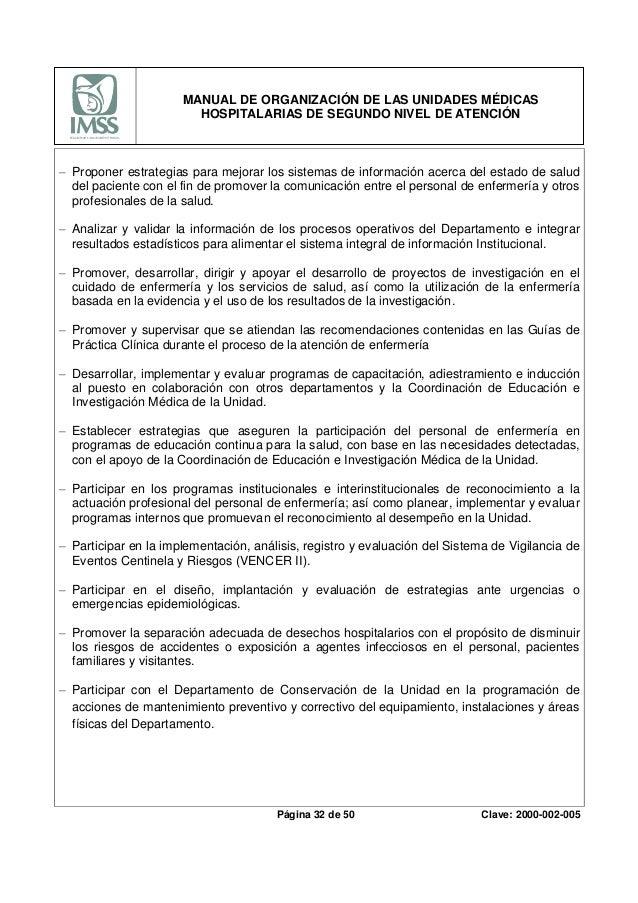 Manual administrativo del imss.