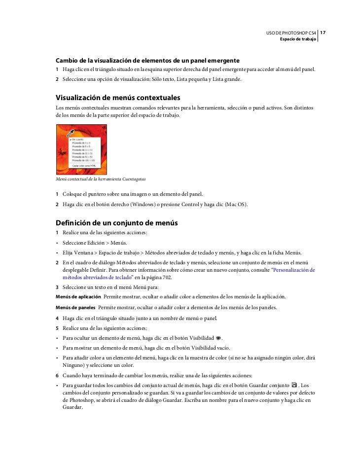 Инструкция к фотошопу cs4