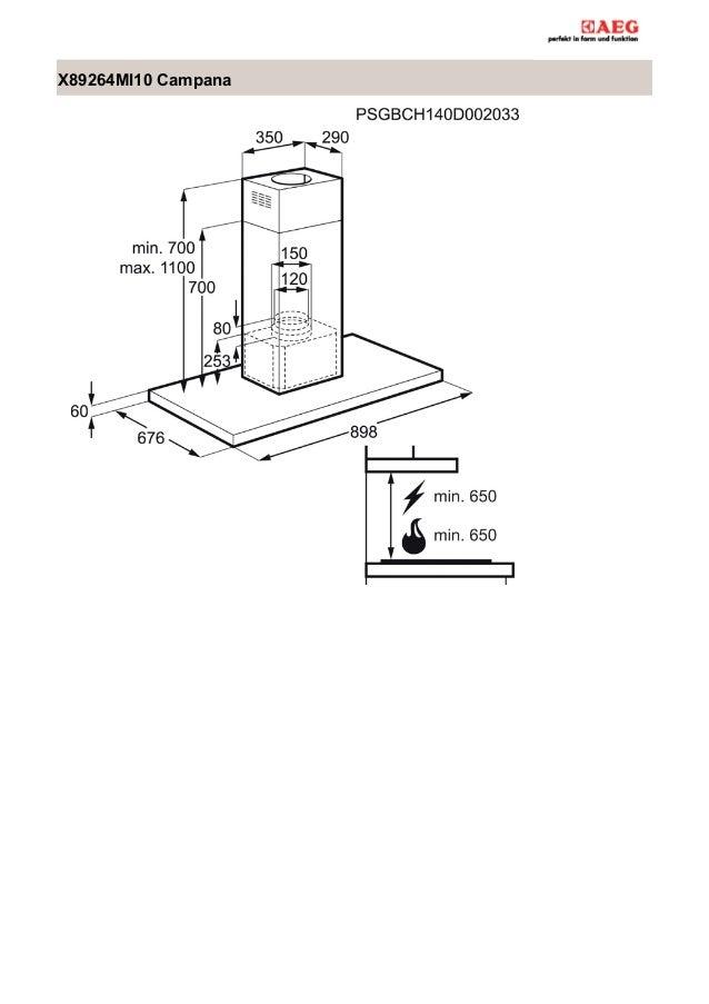 Manual aeg campana x89264mi10