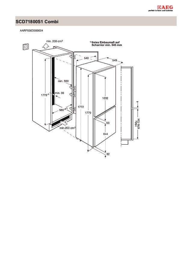 Manual aeg frigorífico scd71800s1