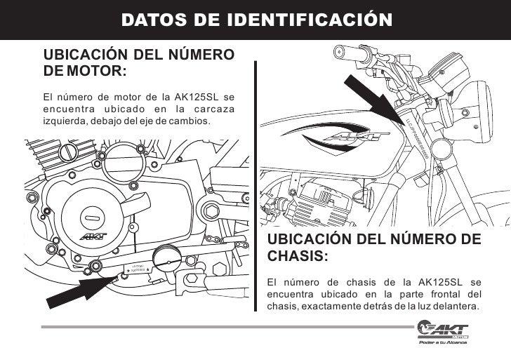 Manual ak125 sl1490