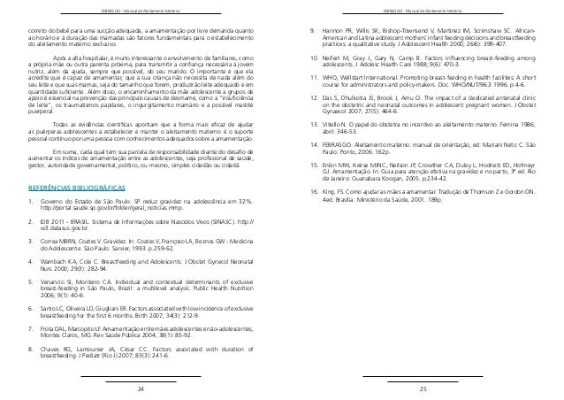 Manual aleitamento materno da febrasgo 2015 posicionamento 13 febrasgo manual fandeluxe Gallery