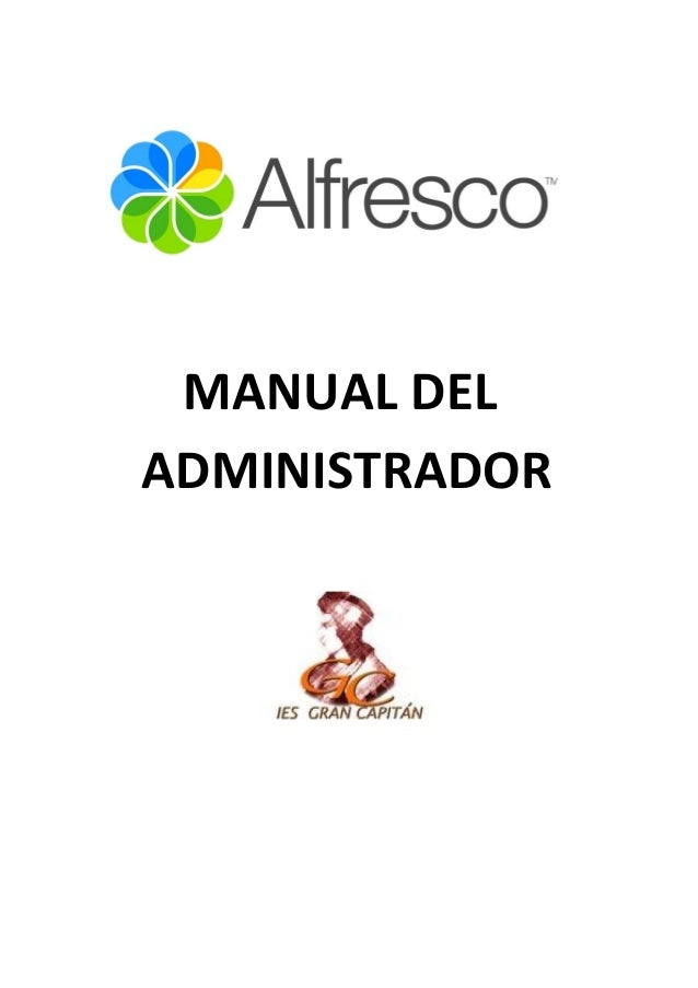 Manual alfresco administradores