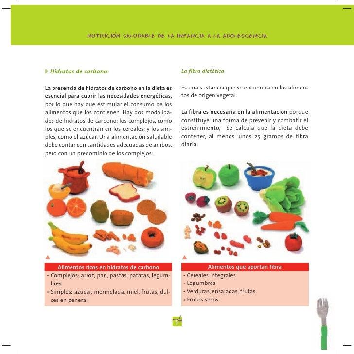 Manual de alimentaci n para ni os y ni as ministerio de sanidad espa - Alimentos ricos en fibra para ninos ...