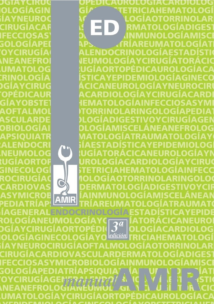 ISBN DE LA OBRAISBN-13: 978-84-611-2176-2ENDOCRINOLOGÍA (3ª edición)ISBN-13: 978-84-612-6348-6DEPÓSITO LEGALM-39487-2006AC...