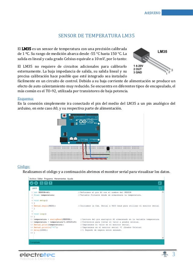 Manual arduino electronica